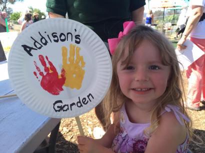 Addison's garden