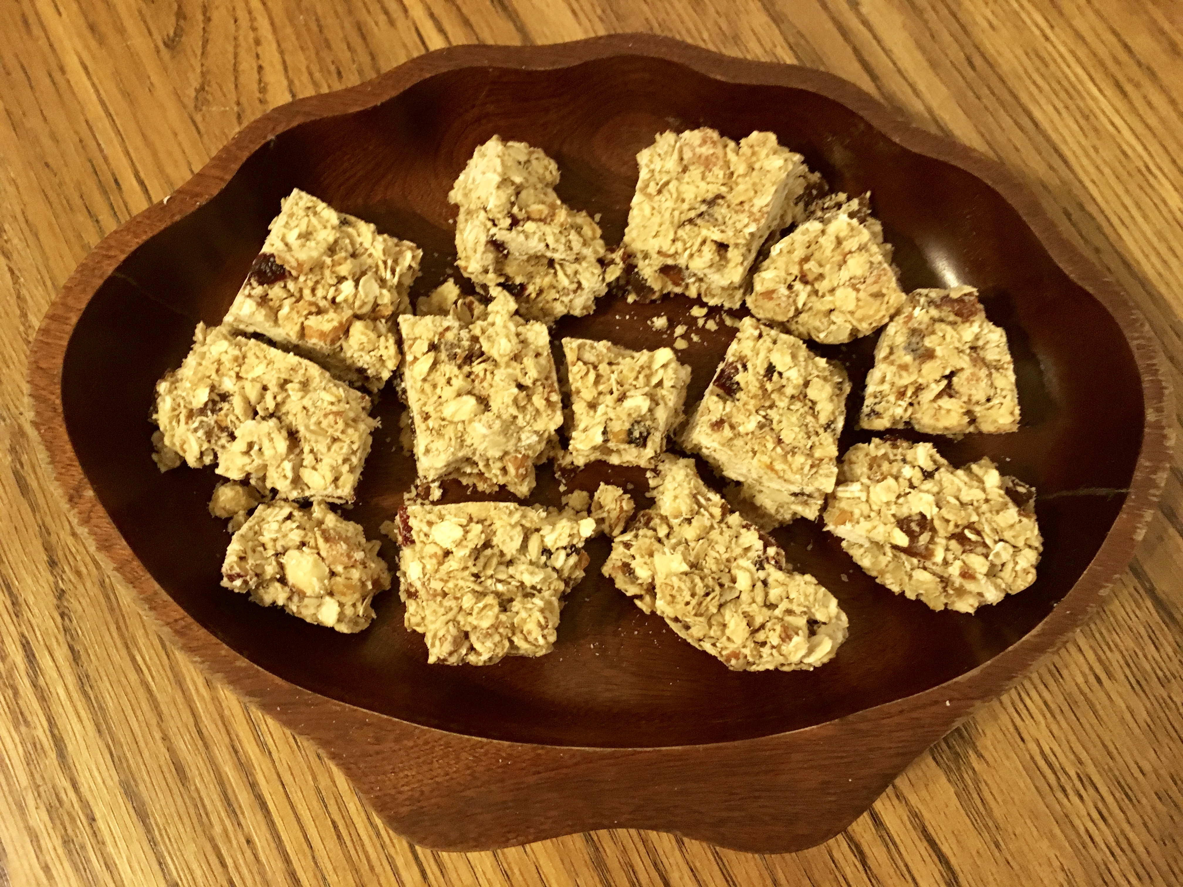 Kids can easily make yummy organic granola bars for a great breakfast, dessert, or snack. Homemade organic granola with dried fruit and nuts is packed with ...